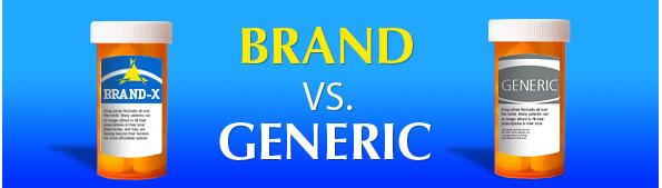 Brand Vs. Generic